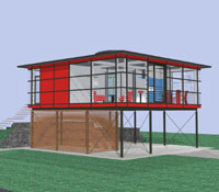 single haus single home design wohnhaus krauss innovation krauss gmbh. Black Bedroom Furniture Sets. Home Design Ideas